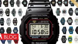 Rekordokkal teli rövid történelem. Így telt az idő aCasio G-Shock karórákkal