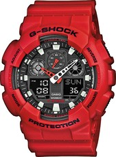 CASIO G-SHOCK GA 100B-4A