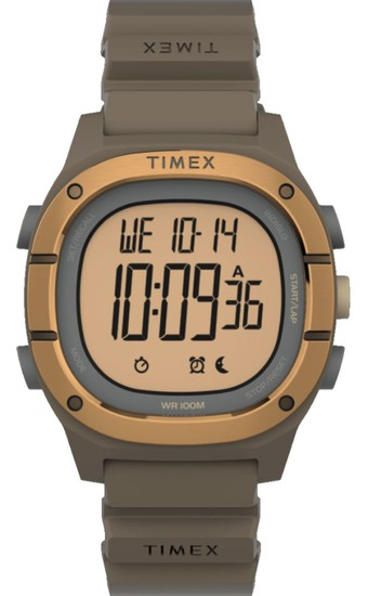 TIMEX Command LT 40mm Silicone Strap Watch TW5M35400