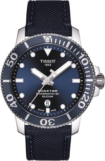 TISSOT SEASTAR 1000 POWERMATIC 80 SILICIUM T120.407.17.041.01