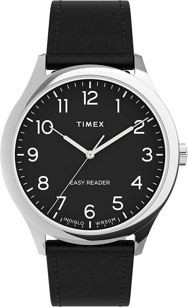 TIMEX Easy Reader Gen1 40mm Leather Strap Watch